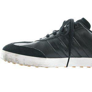 ADIDAS Men's Adicross Black Golf Leather Shoe Size 10.5